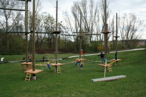 Lanový park pro děti