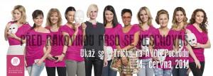 ambasadorky Pochodu proti rakovině prsu 2014