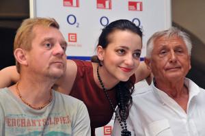 foto z tiskové konference Mnoho povyku pro nic