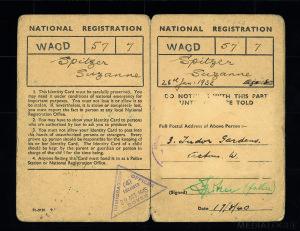Identifikační karta pro pobyt v Anglii-Zuzana Marešová