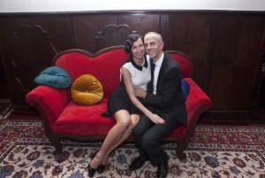 Manželé Veronika a Jean-Christophe Gramontovi