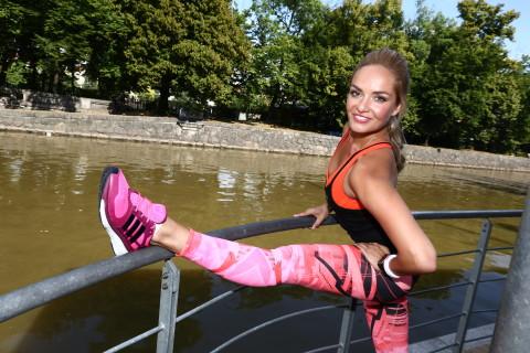 Táňa už nějakou dobu pilně trénuje na zářijový adidas Běh pro ženy