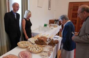 Na tiskové konferenci se představili svými kvalitními českými potravinami  někteří z účastníků letošní soutěže – Pivovar Svijany a.s., Řeznictví - uzenářství Francouz s. r. o. a Beas, a.s. (Pekárna Lično).