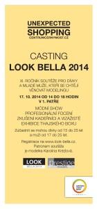 Casting LOOK BELLA 2014 v Centru Černý Most