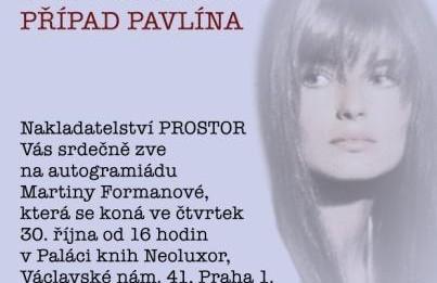 Formanova_Pavlina_pozvanka_Neoluxor_