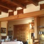 interiér restaurace hotelu Alpská vyhlídka
