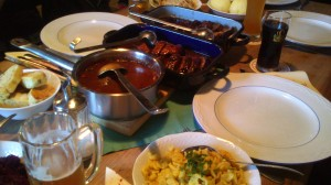 maso tří druhů - restaurace ve skanzenu Firstenau