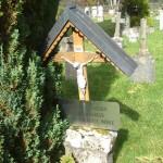 náhrobek - hřbitov Bučina