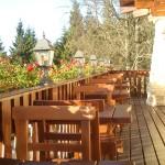 terasa - hotel Alpská vyhlídka