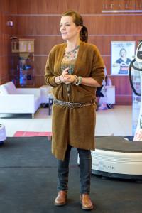 Marta Jandová na TK Power Plate představuje zdravotní benefity