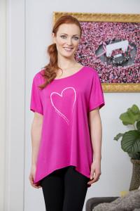 tričko dámské oblečené - ŽENA