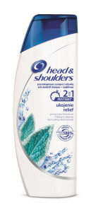 head & shoulders_ instant relief_šampon 2v1_200ml_69,90 Kč