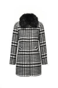 Coat fur collar