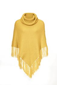Poncho yellow