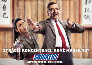 Mr.Bean pro Snickers