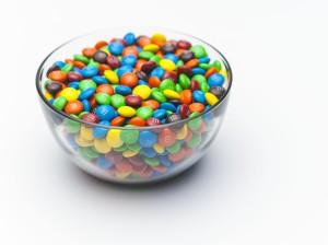 M&M's čokoládové bonbóny
