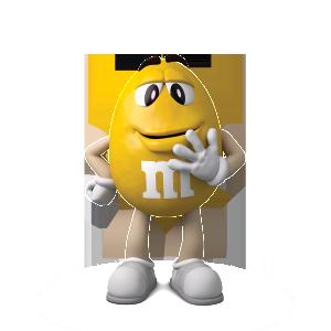 M&M's_Žlutý