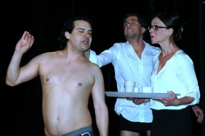 Lucie Zedníčková v divadelní hře