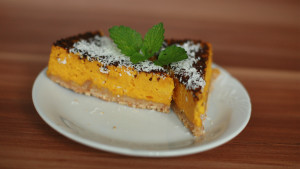 NATURHOUSE-recept-dýňový cheesecake