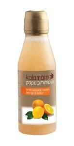 Balzamikový krém s pomerančem a citrónem