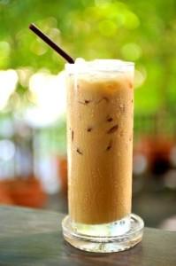 káva s kokosem