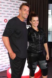 Herec Mark Keller a zpěvačka Marta Jandová mají ve cvičení jasno