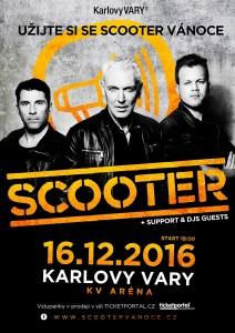 Scooter nadělí českým fanouškům dárek už před Vánoci. (1)