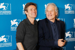 Venice, Italy. 4th Sep, 2014. Willem Dafoe, Abel Ferrara .Theeb Credit:  Roger Harvey/Globe Photos/ZUMA Wire/Alamy Live News
