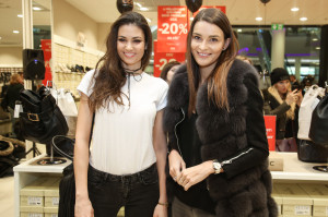 Nikol Švantnerová se přišla společně s Lucií Smatanovou podívat na nové trendy v obuvi
