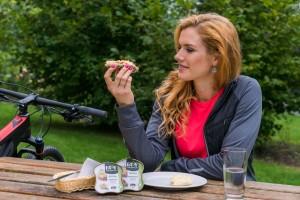 Gabriela Koukalova s Easy Sandwich
