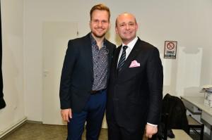 Martin Chodúr a David Novotný