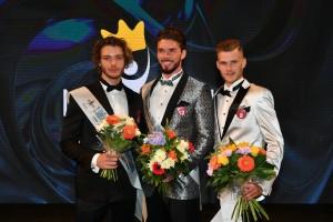 první tři finalisté