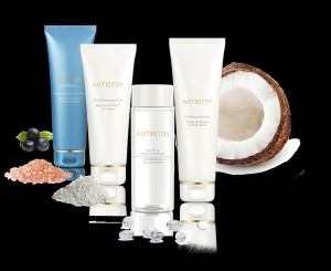ARTISTRY SPECIAL CARE Grop Shot with ingredients