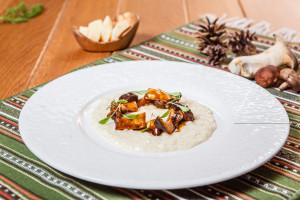Parmazánové rizoto s houbami