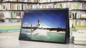 YogaBook_12''(Yogi)_Android Productivity_Tent mode_Movie