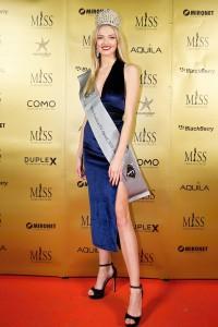 Kristýna Malířová - čerstvá držitelka světového titulu Miss Fashion TV Teen 2018
