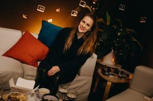 Petra Nesvačilová přijala pozvání do pořadu Adély Elbel, aniž by věděla, jak dlouho trvá. Zdroj_Mall.tv