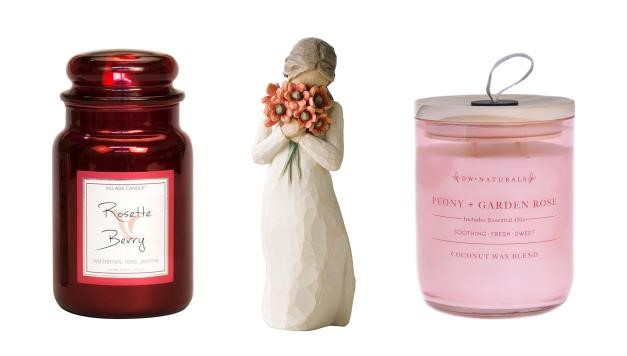 svíčka a figurka