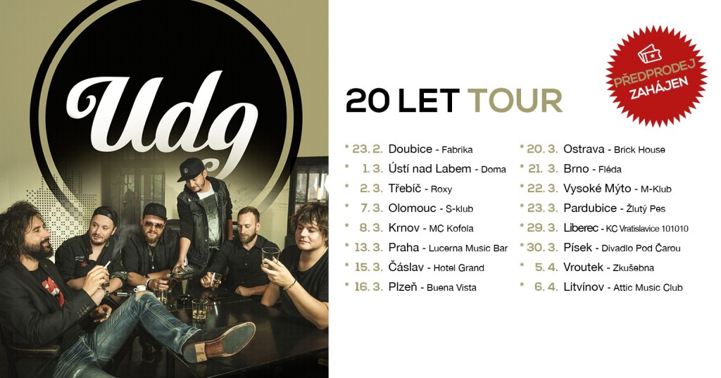 20 let tour UDG