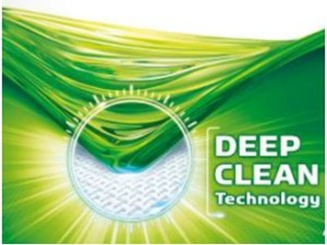 Deep Clean technologie