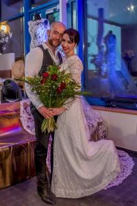 Vítězka Souboje nevěst Táňa Vejvodová s budoucím manželem_foto_Petr Vavrda