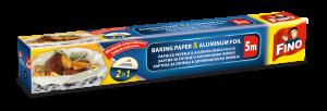 pečící papír s alobalem 2v1