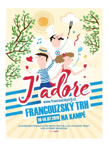 Poster-Francouzský