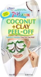 7th Heaven kokosová slupovací maska s jílem
