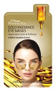 7th Heaven zlatá maska na váčky a kruhy pod očima