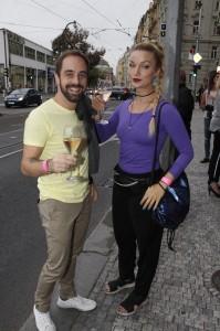 Petr Kutheil s partnerkou