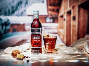 Božkov griotka_drink_lahev