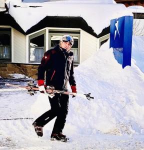 Jan_Čenský_vyráží_na_lyžování