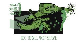 TBS_HOT TOWELWET SHAVE nebo ULTIMATE BEARD TREATMENT & LINE UP,  490 Kč,www.thomasbarbershop.cz