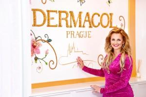 Věra Komárová v novém sídle Dermacol_foto Dermacol